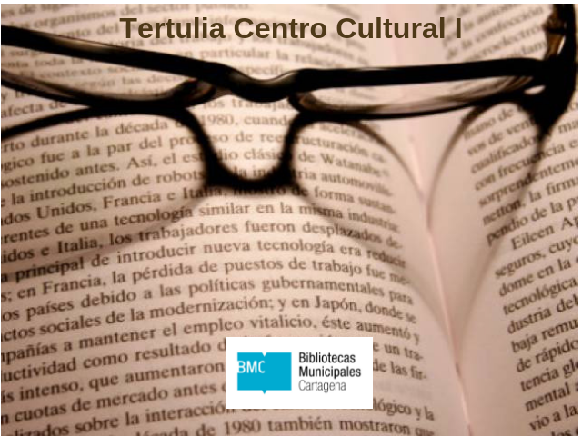 Tertulia Biblioteca Centro Cultural Ramón Alonso Luzzy I