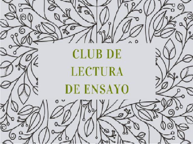 Club de lectura de ensayo