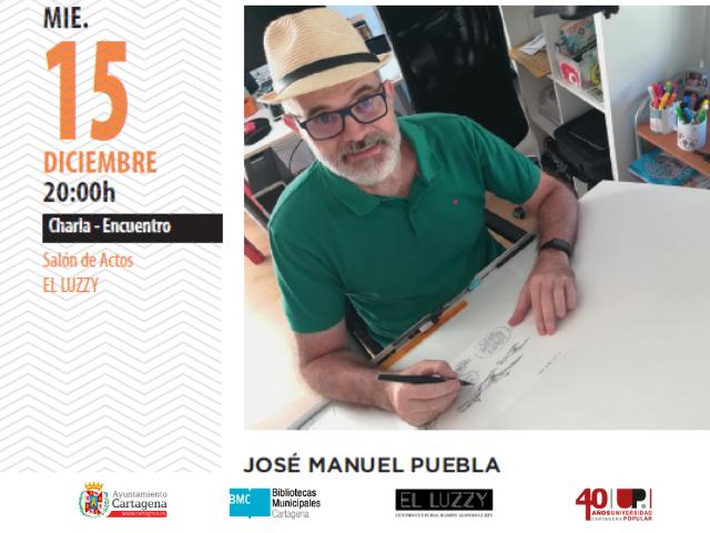 José Manuel Puebla: El papel del humor y el humor en papel: las viñetas de Puebla