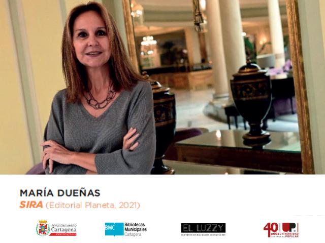 María Dueñas presenta