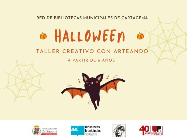 Taller creativo de Halloween