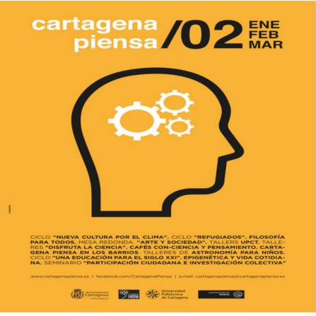 Cartagena Piensa. Programación enero -marzo 2017. Documento PDF - 642,44 KB. Se abre en ventana nueva