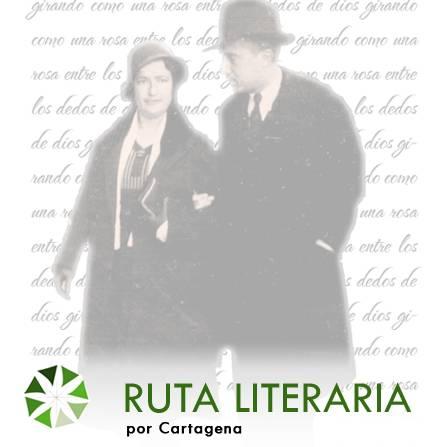 Ruta Literaria por Cartagena